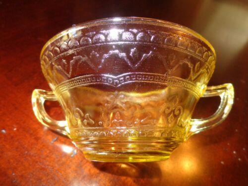 Patrician Spoke Amber Cream Soup Bowl(s) Federal Depression Glass 1933-1937
