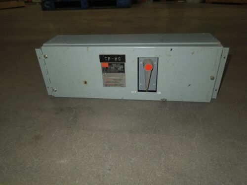 Fpe Qmqb1036r 100a 3p 600v Single Fusible Switch Unit Used