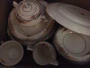 4 place setting China dishes