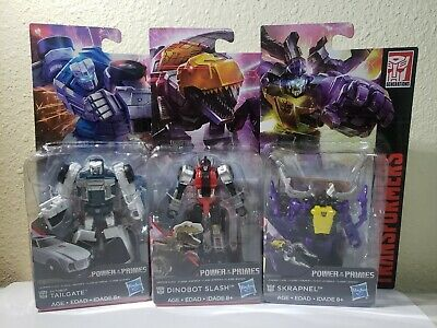 Transformers Generations Insecticon Skrapnel, Dinobot Slash, & Tailgate Set