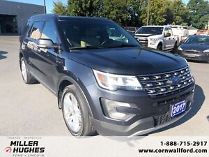 2017 Ford Explorer Limited - AWD, Leather, Nav, DVD screens