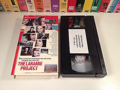 The Laramie Project Promo Screener TV Movie Docudrama VHS 2002 Matthew Shepard - Ntsc Projection Tv