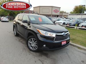 2015 Toyota Highlander Hybrid HYBRID-XLE-NAVI-LEATHER-SUNROOF-4W