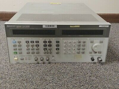 Agilent Hp 8643a High-performance Signal Generator 0.26-1030 Mhz Opt 001