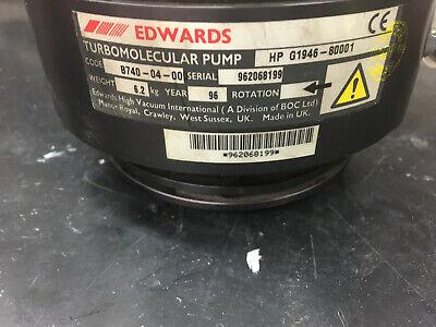 Agilent 5973 Ms Ext250hp Turbo Pump. Agilent G1946-80001