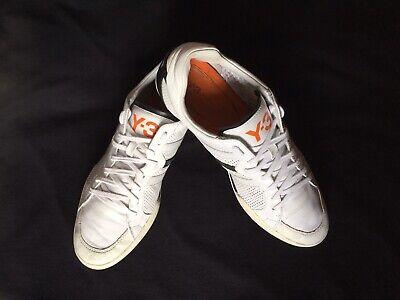 adidas y-3 yohji yamamoto Size 9 Men's Shoes White Black Pre-Owned