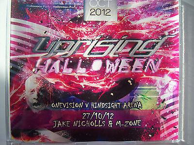 UPRISING  27.10.12 HALLOWEEN BALL - JAKE NICHOLLS & M-ZONE  CD - Zone Halloween Ball