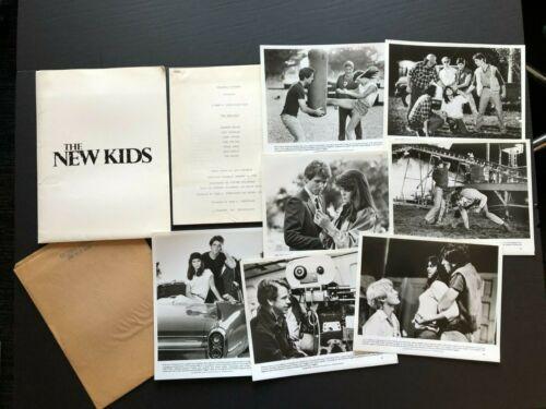 The New Kids (Laughlin, 1984) - Movie Press Kit w/Photos & Press News Sheets