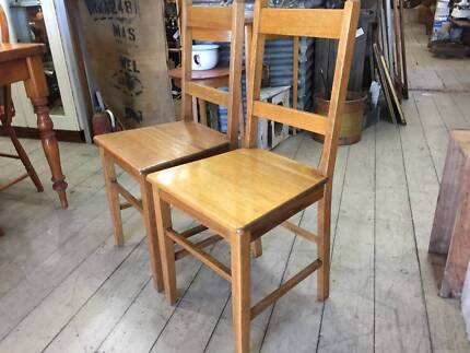 vintage 60s furniture. 1x Vintage Wooden Chair Dining Or Desk 2 Avail 60s Furniture R