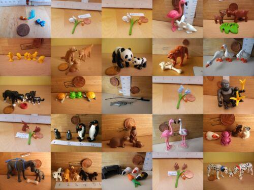 Image of 00 Playmobil New Spares Animals choice flamingo rabbits bunny goat pig plant