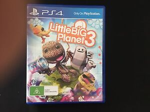 Little Big Planet 3 for PS4 Boondall Brisbane North East Preview