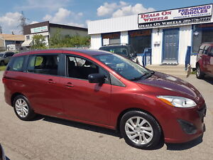 2012 Mazda5 GS, 6 PASSENGER  BRAND NEW TIRES