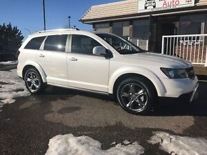 2017 Dodge Journey Crossroad DVD and Seven Passenger Seating