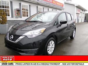 2018 Nissan Versa Note  SV/AS LOW AS $55.00 A WEEK