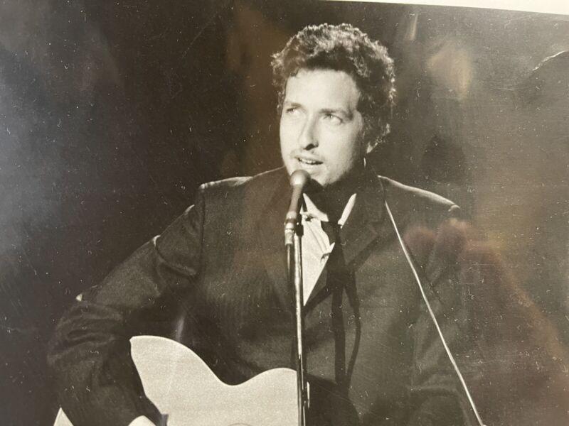 Bob Dylan, ABC Live in Concert  RARE HTF Promotional Photo V1