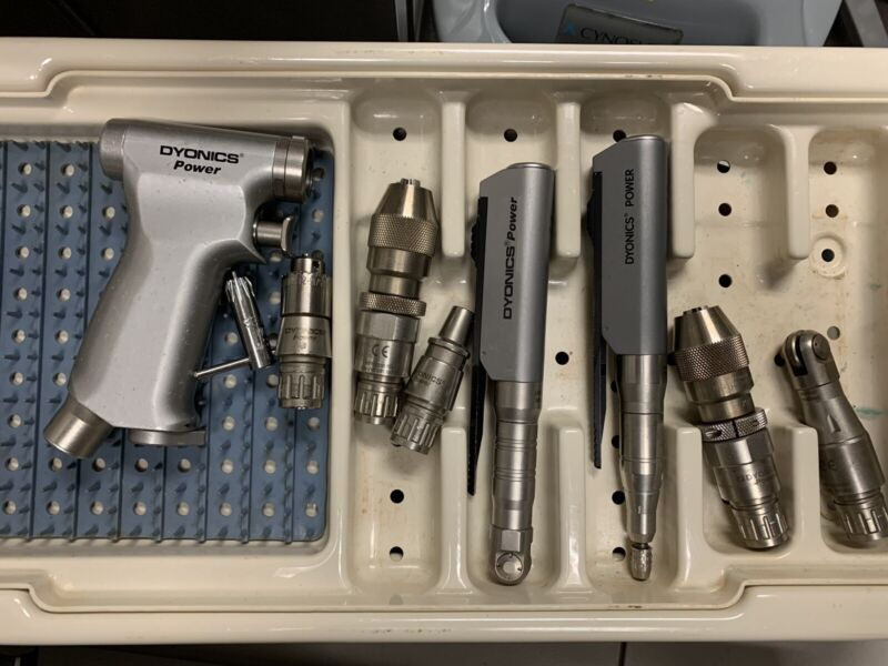 Dyonics Endoscopy Power set w/ Pistol Grip 7205785 and Attachments