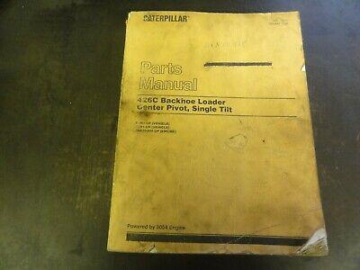 Caterpillar Cat 426c Backhoe Loader Parts Manual  Sebp2551