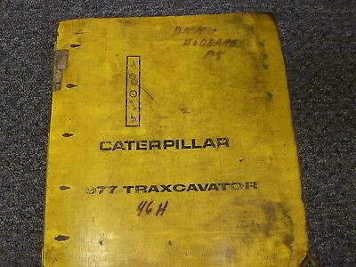 Caterpillar Cat 955k Traxcavator Crawler Loader Shop Service Repair Manual Book