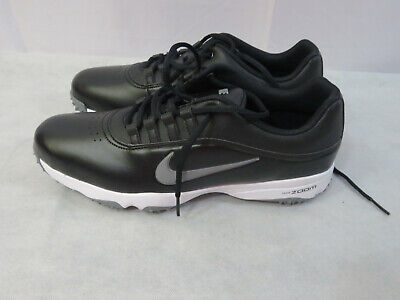 New Nike Men's Air Zoom Rival 5 Golf Shoes Size 9.5 Black/Gray 878957 001