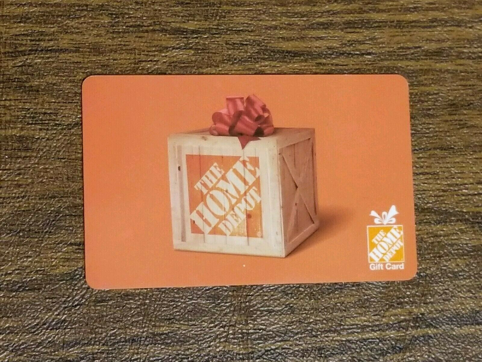 Home Depot Gift Card 500, Physical Card, USA Only Customer 237465 - $475.00