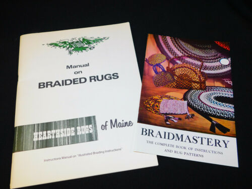 MANUAL ON BRAIDED RUGS Hearthside Rugs of Maine BRAIDMASTERY Book Patterns