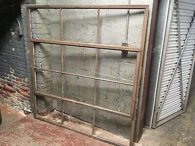 - Antique Industrial Decorative Metal Window Frame