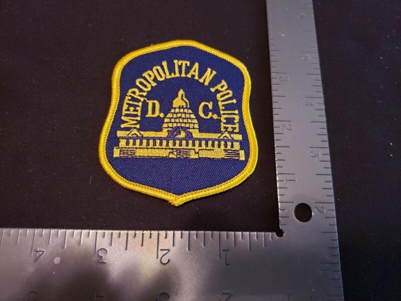 METROPOLITAN POLICE WASHINGTON DC PATCH OLD STYLE MPD SHERIFF FBI DEA ATF K9 VA