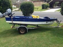 Waterways boat 15hp yamaha Mount Cotton Redland Area Preview