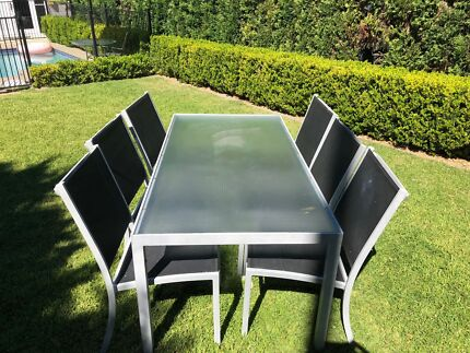 Outdoor Dining Table X 6 Matching Chairs U201cUrban Conceptu201d