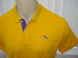 Puma-Golf-Funky-USP-TransDRY-Gents-Polo-Shirt-Gold-Fusion-RRP-59-95