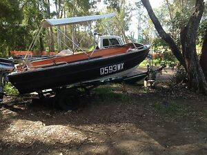 14 Ft Tinny with 35hp Evinrude Outboard Motor URGENT SALE Upper Coomera Gold Coast North Preview