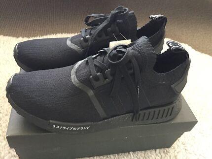 Adidas NMD R1 Triple Black Japan edition sz 11us brand new in box