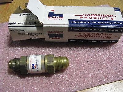 Mueller Brass Streamline Liquid Indicator A-15901 Nsn 6680-00-951-7513