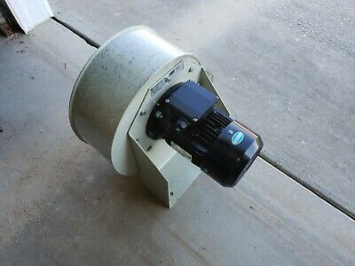 Centrifugal Fan Blower Ventilation Exhaust 1 Hp Motor