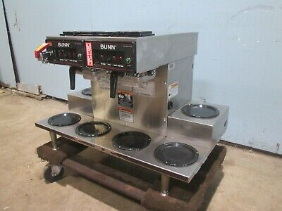 Bunn Commercial H.d. Pour-overautomatic S.s. Coffee Brewer W6 Warmers