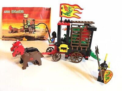 Lego Castle Dragon Wagon set 6056 - 99.99% Complete - Knights Vintage Classic