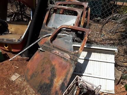 mancave items old car doors