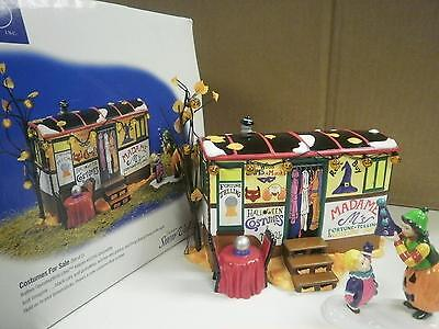 DEPARTMENT 56 54973 COSTUMES FOR SALE- HALLOWEEN BUILDING NEW IN BOX