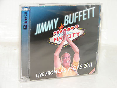 Jimmy Buffett Welcome To Fin City  Live From Las Vegas 2011  2 Disc Cd Dvd  New