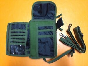 Military Travel ID Bag / OD Green  *Brand New