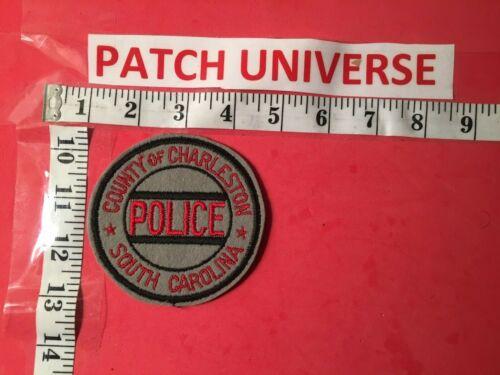 VINTAGE COUNTY OF CHARLESTON SC POLICE  SHOULDER PATCH  P039
