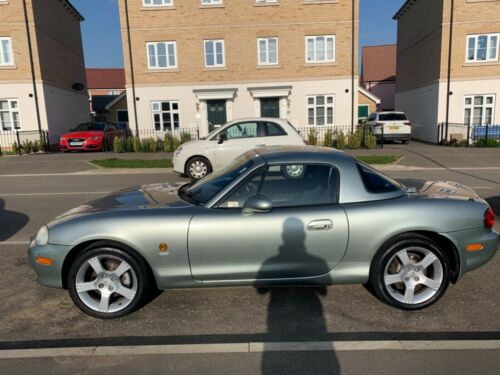 Image of Mazda MX5 Mk2 low mileage, hard top over soft top 1.8 petrol, Silver