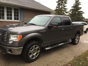 2010 F150 with Leather and snow tires