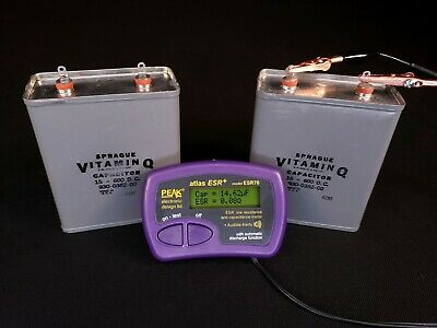 15uf Mfd 600vdc High Voltage Oil Filled Energy Storage Capacitor - Tested