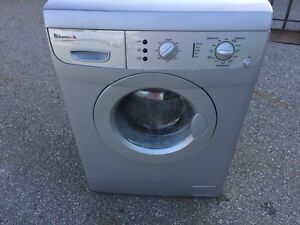 Grey/Silver Eurotech Apartment Washer
