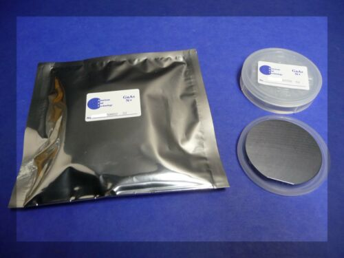GaAs Wafer (100) N-type, Si-doped, 50.8 mm x 350 µm thick, 1 side polished
