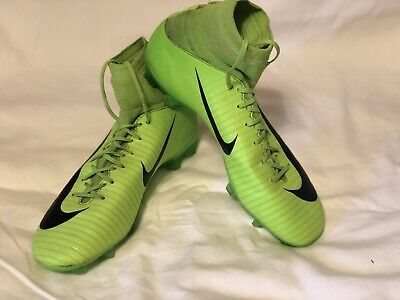 NIKE MERCURIAL SUPERFLY V FG SOCCER CLEATS ELECTRIC GREEN SHOES US 5.5