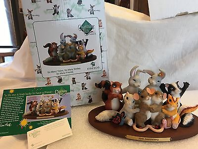"""Charming Tails """"SO MANY YEARS, SO MANY SMILES, SO MANY FRIENDS """" DEAN GRIFF NIB"""
