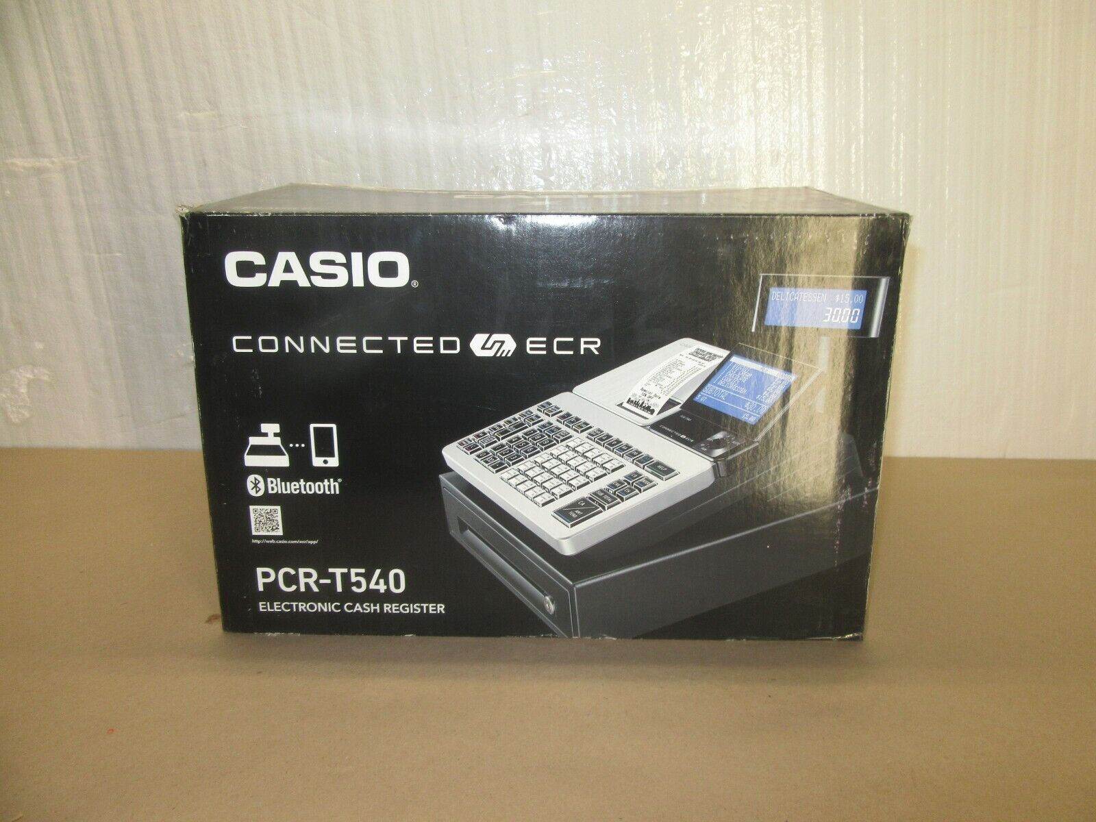 Casio PCR-T540 Cash Register Pcr T540