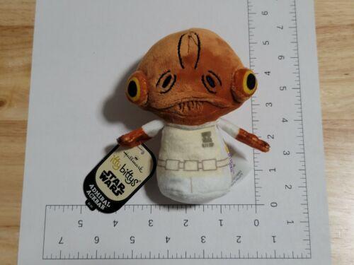 2017 Hallmark Itty Bittys Star Wars Admiral Ackbar Plush NWT New with Tags